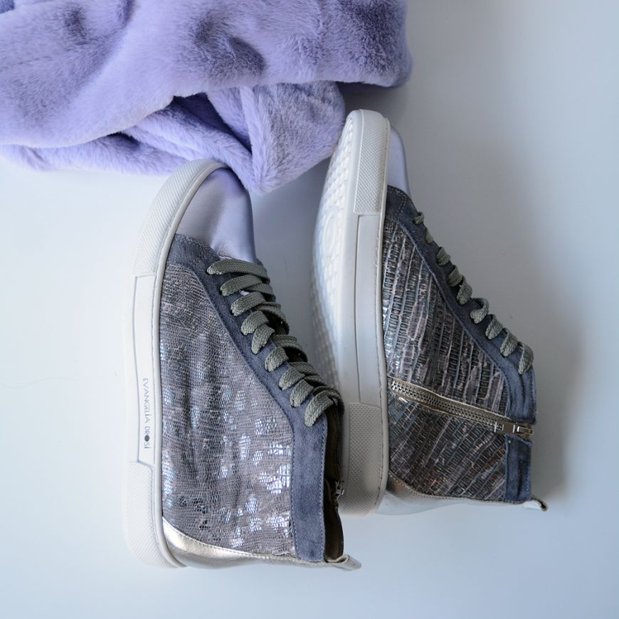 LILAC/SNAKE SNEAKERS