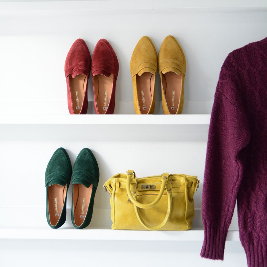 GREEN OXFORD