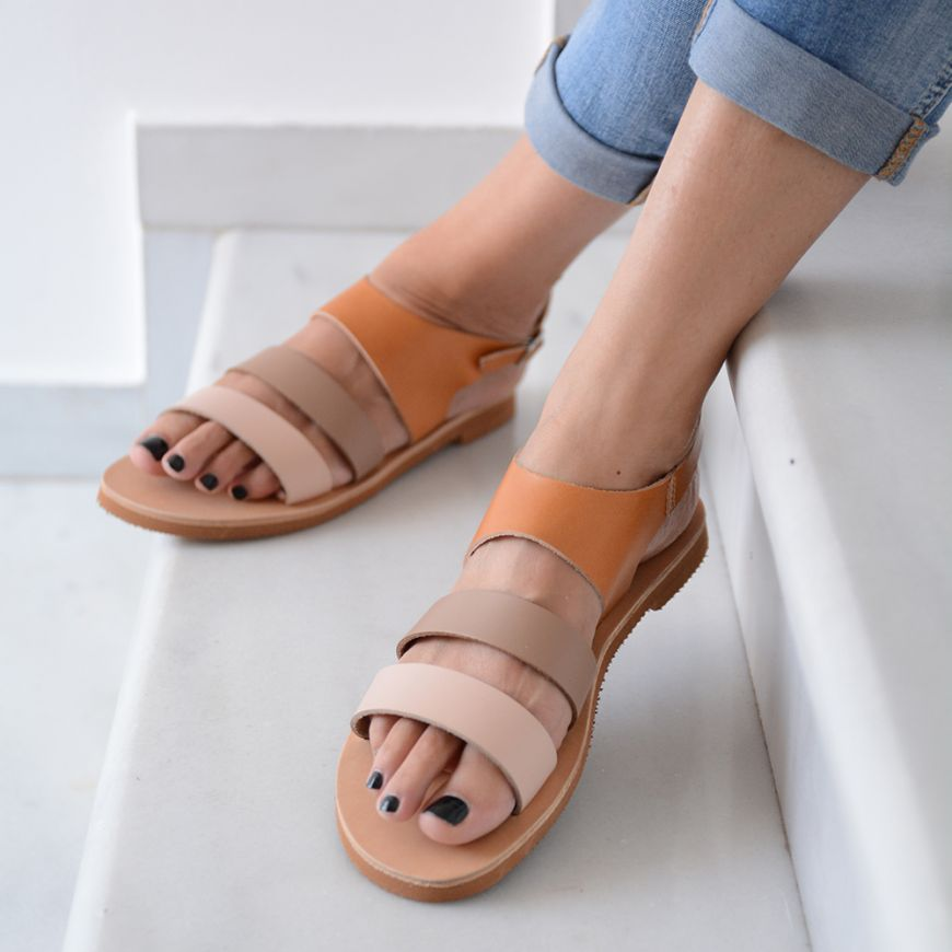 EARTH TONES SANDALS
