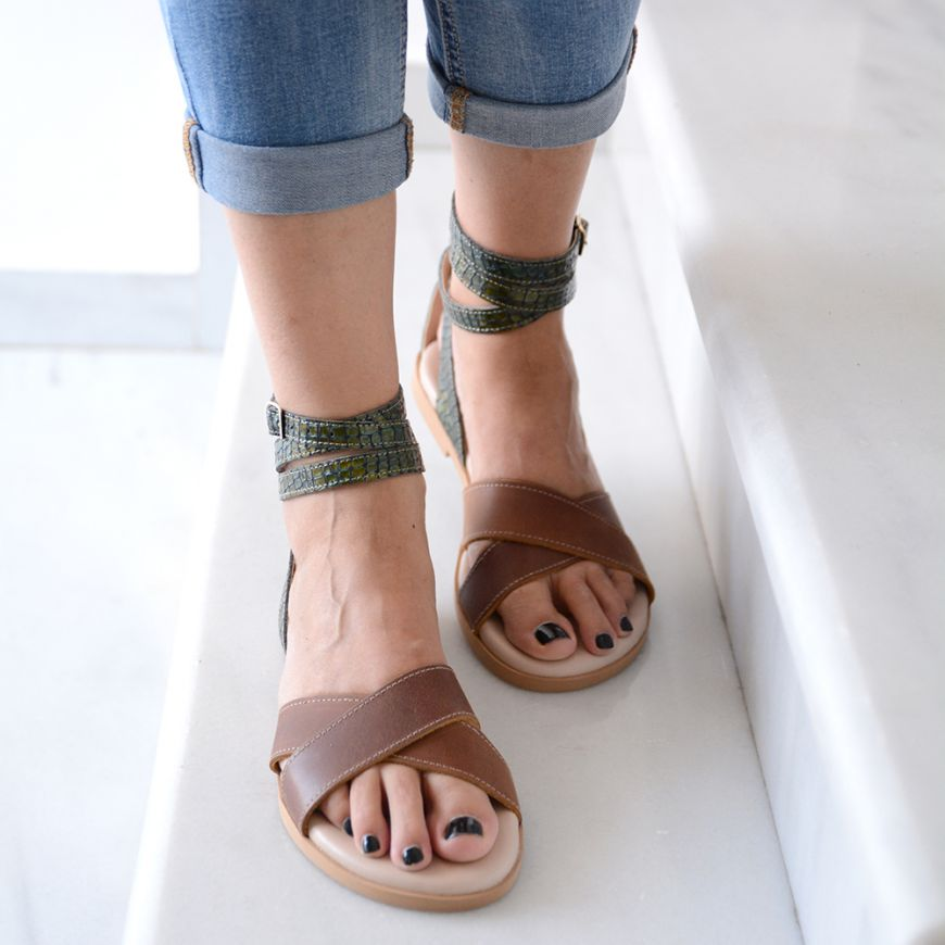 GOLDEN FLY SANDALS