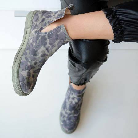 ARMY SNEAKERS BOOTS