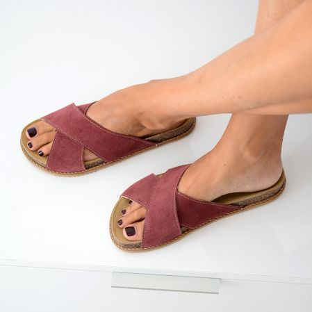 Dusty Pink Sandals
