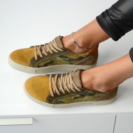 GREEN ARMY SNEAKERS