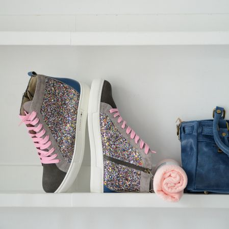 COLORS GLITTER SNEAKERS